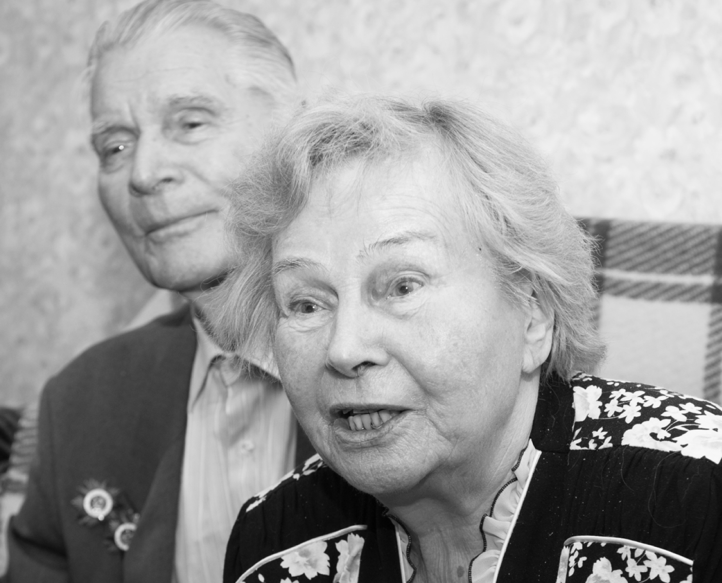 Maria Georgievna Faustova & Aleksandr Filipovich Voronov