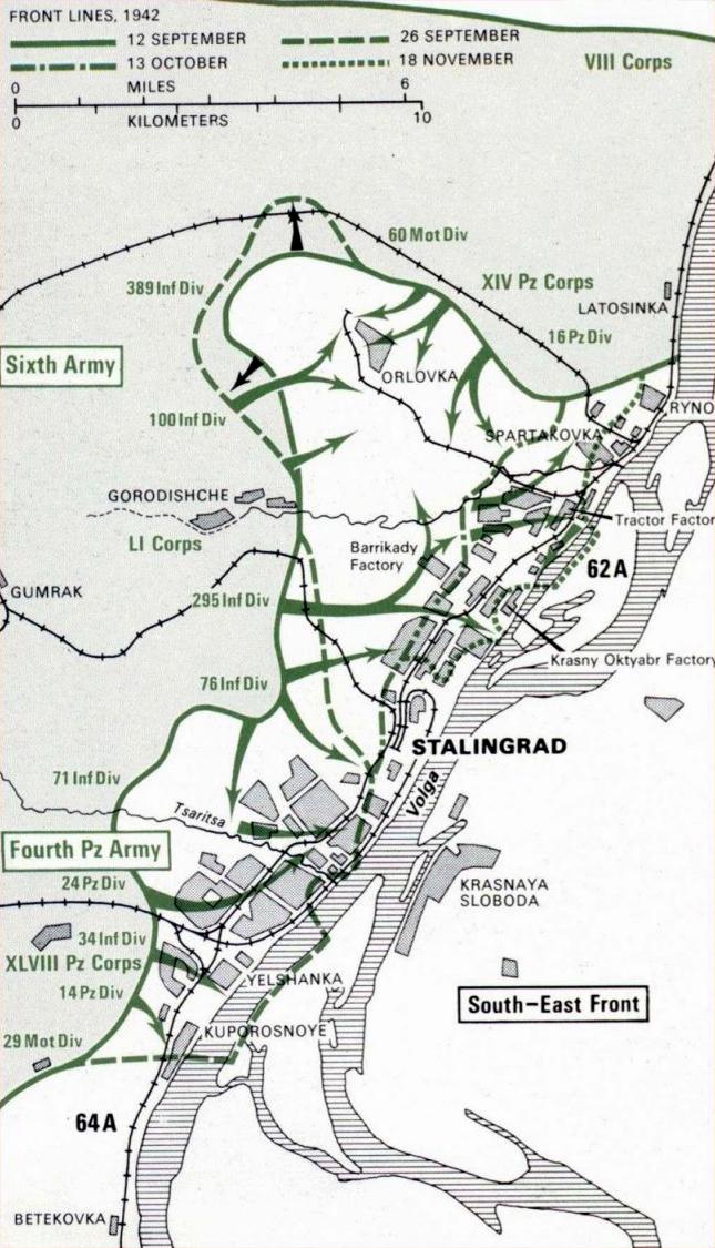 The Battle of Stalingrad – Facing Stalingrad